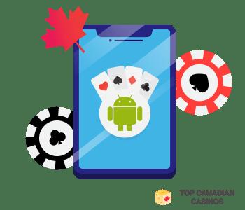 Lieblings-Android-Kasino auswählen