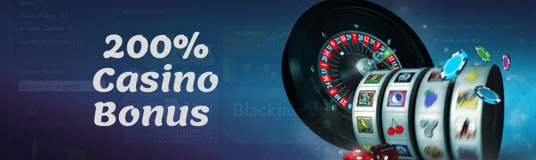Online Casino 200% Bonus