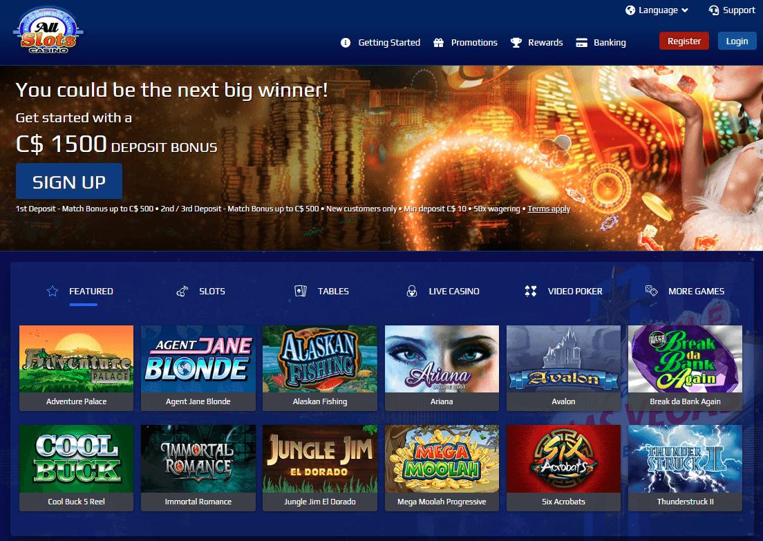 All Slots Casino Legit