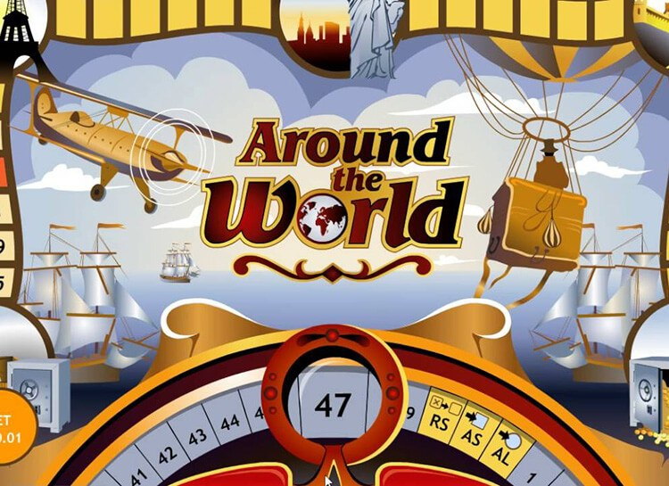 Play Around The World Free Slot Game