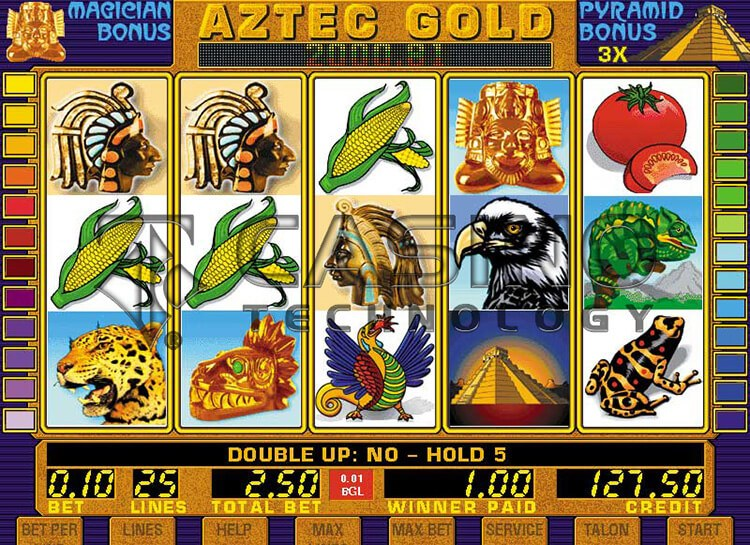 Play Aztec Gold Free Slot Game