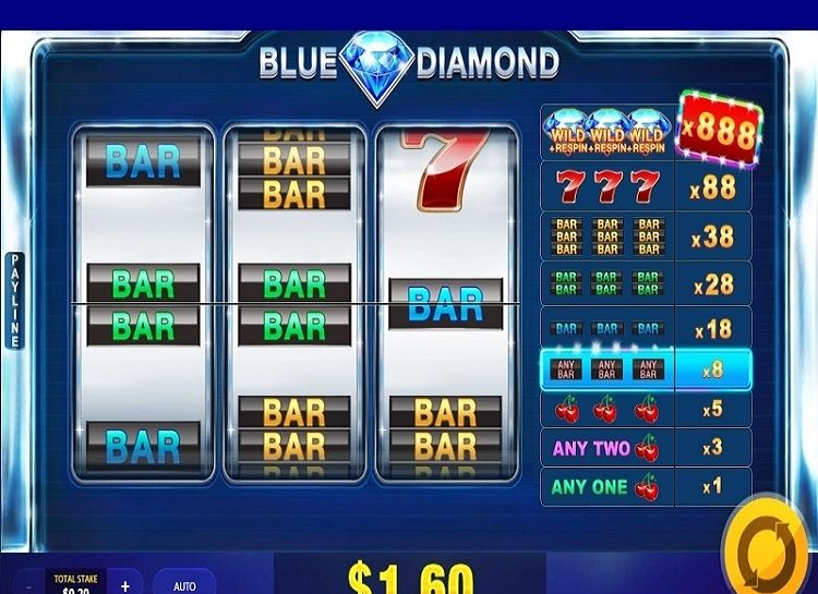 Play Blue Diamond Free Slot Game