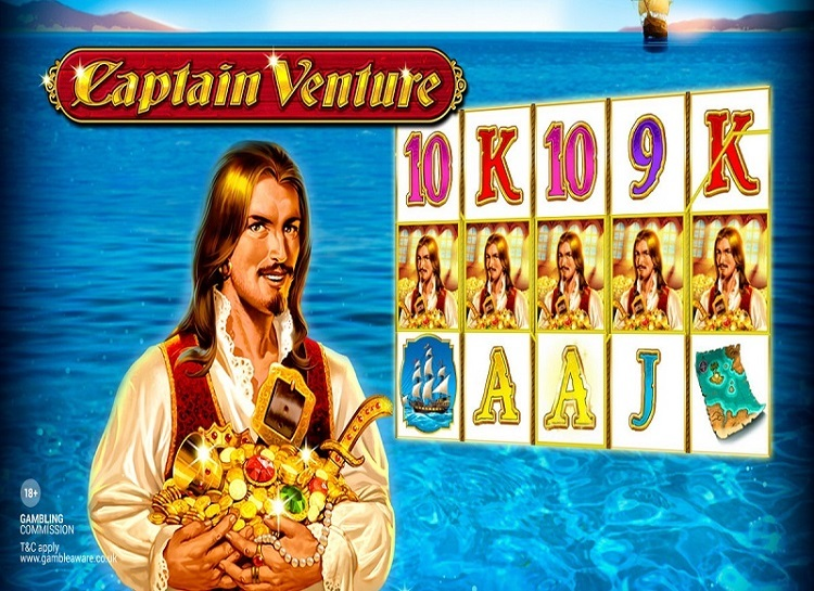 Play Captain Venture Free Slot Game
