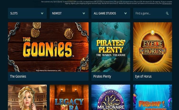 CasinoLand casino games