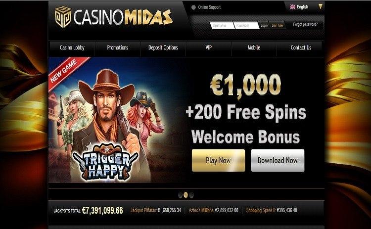 Midas casino review