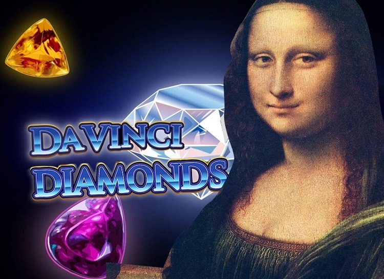 Play Da Vinci Diamonds Free Slot Game