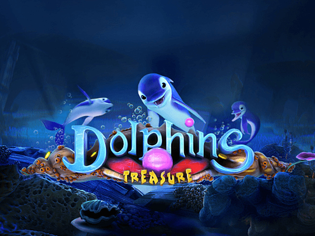 Play Dolphins Treasure Free Slot Game
