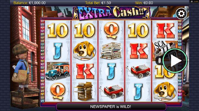 Extra Cash Slot Machine