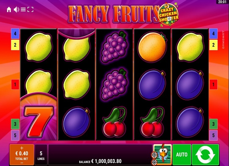 Fancy Fruits Crazy Chicken Shooter Slot