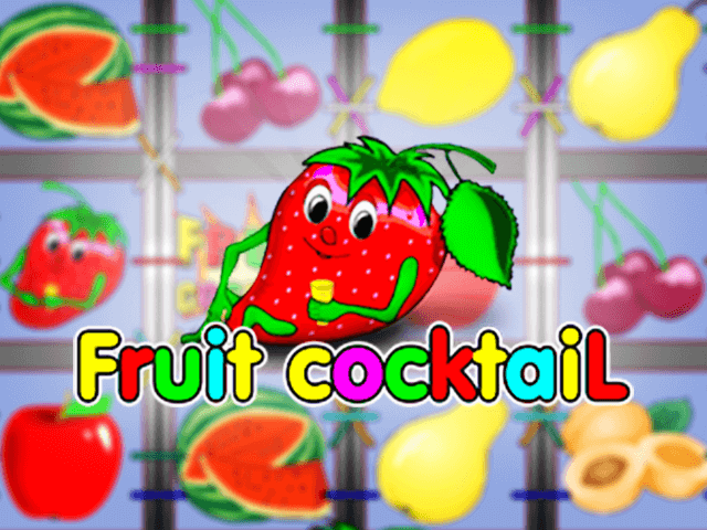 Play Fruit Cocktail Free Slot Game