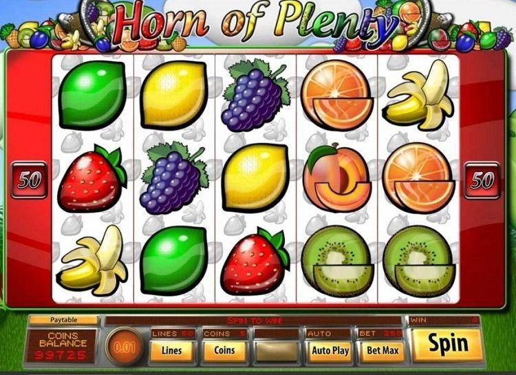 Play Horn of Plenty Free Slot Game