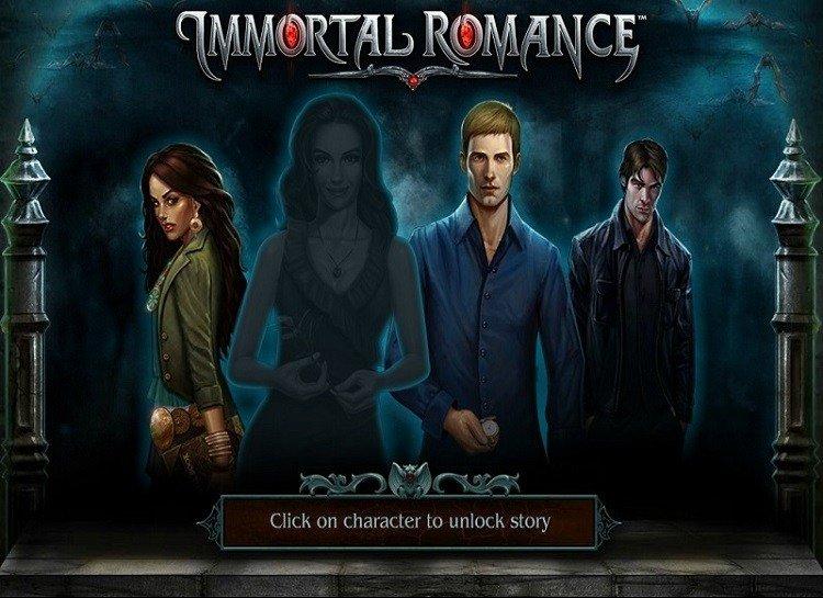 Play Immortal Romance Free Slot Game