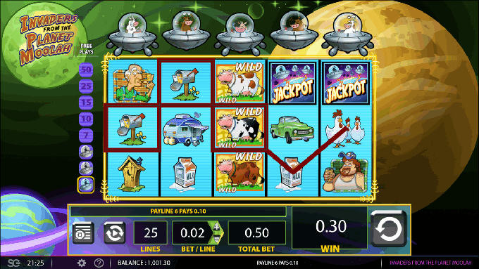 Play invaders from the planet moolah slot machine wms games Deposito slots of vegas free chip no deposit