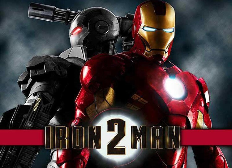 Play Iron Man 2 Free Slot Game