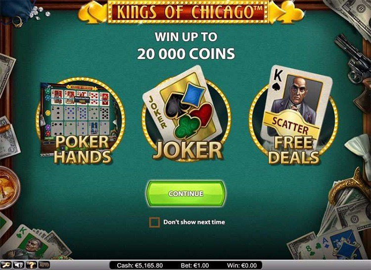 Play Kings Of Chicago Free Slot Game