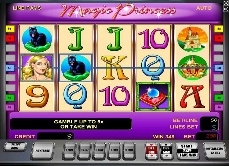 Play Magic Princess Free Slot Game