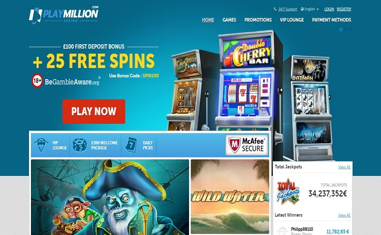 Play Million casino review