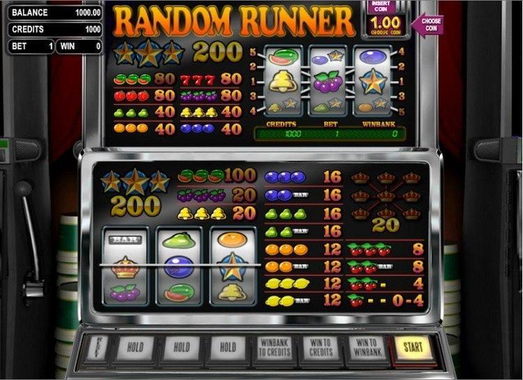 Play Random Runner Free Slot Game