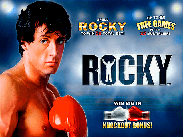 Play Rocky Free Slot Game