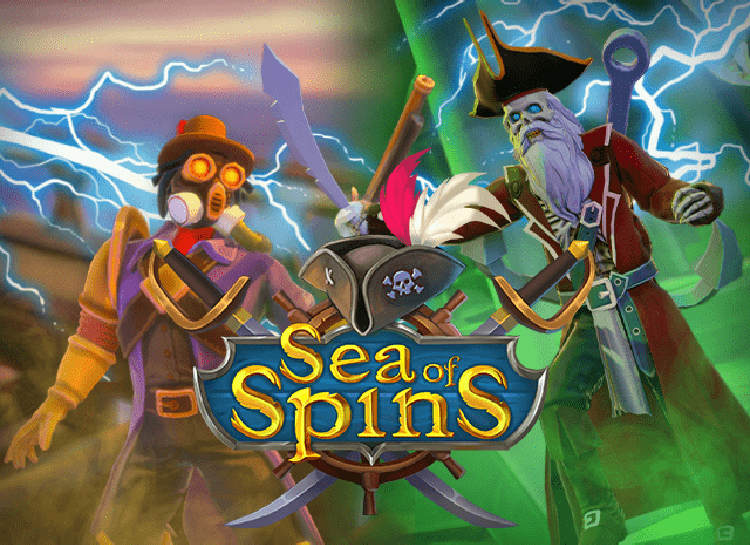 Play Sea of Spins Free Slot Game