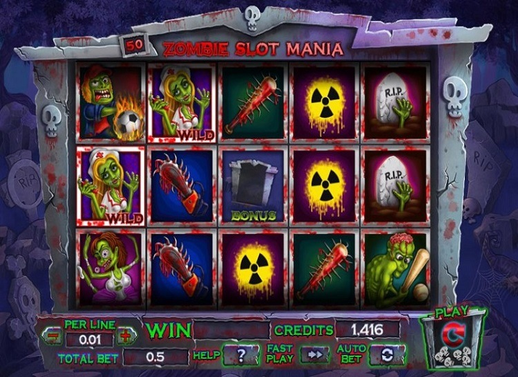 Spiele Zombie Slot Mania - Video Slots Online