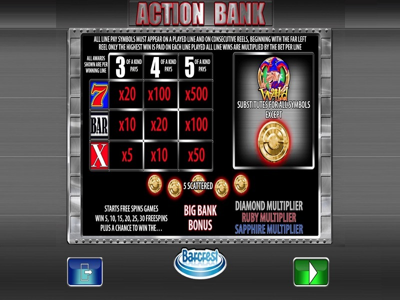 Play bank games online