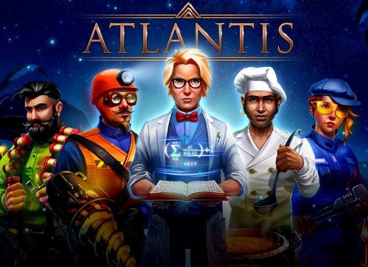 Play Atlantis Free Slot Game