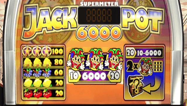 Play Free Jackpot 6000 Slot Machine Online ⇒ [NetEnt Game]