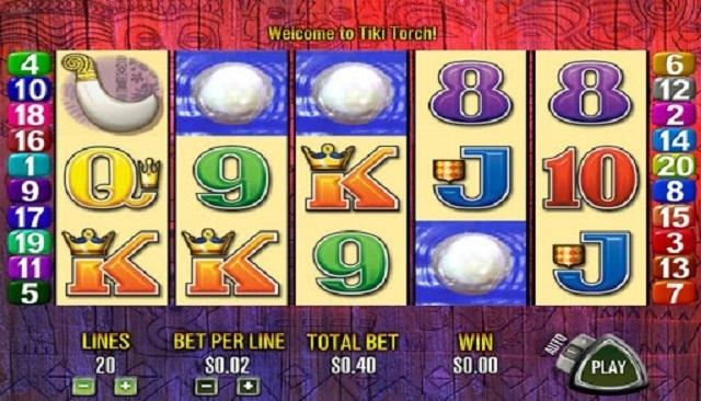 Tiki Torch Free Play Slot Machine